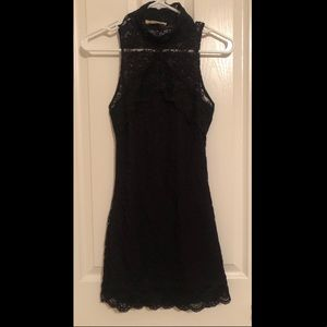 Arden B lace mini dress